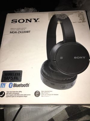 Wireless Sony Headphones (Never Used) for Sale in Murfreesboro, TN