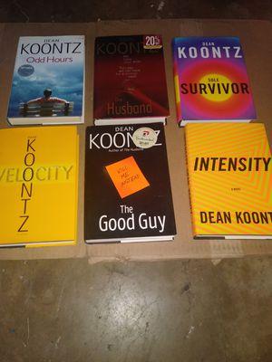 Dean Koontz Hard Backs for Sale in San Angelo, TX