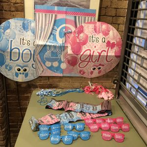 Gender reveal props (Tribeca Manhattan) for Sale in New York, NY