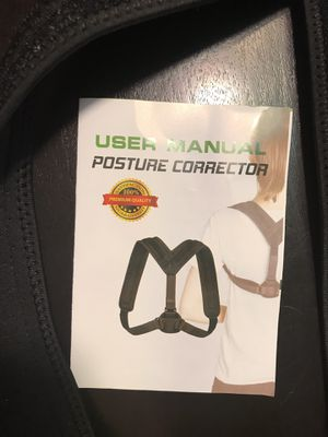 Posture corrector for Sale in New Braunfels, TX