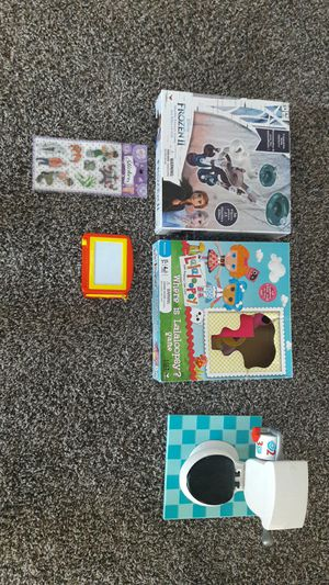 Frozen II & Lalaloopsy board games and Kids Toilet toy for Sale in Fort Worth, TX