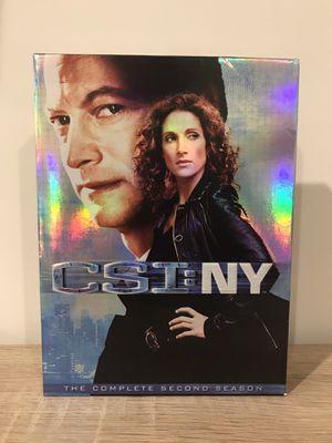 CSI New York Season 2 complete dvd box set for Sale in Dulles, VA