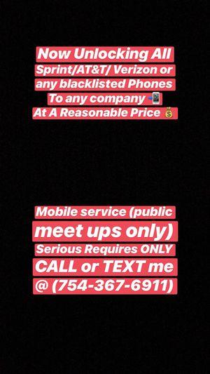 GSM UNLOCK ‼️‼️ for Sale in Lauderhill, FL