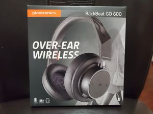Plantronics Backbeat GO 600 Bluetooth Headphones - 18-hour battery - great for calls for Sale in Englewood, CO