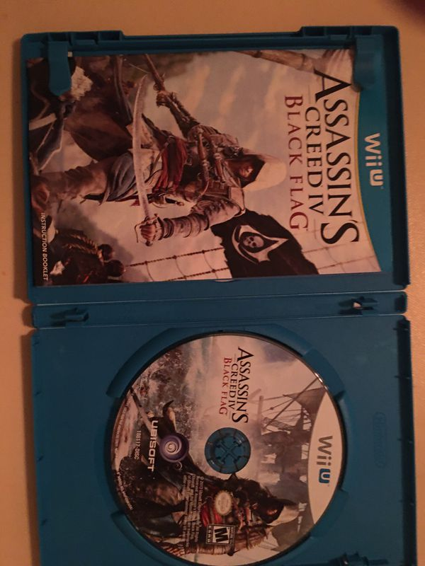 Nintendo Wii U assassin's creed black flag
