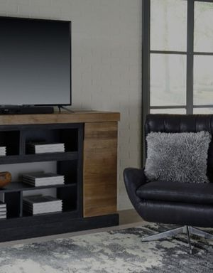 🥝SAME DAYDELİVERY🥝👉 ♥️$39 down payment🎈- Tonnari Two-tone Brown XL TV Stand | W715-68 for Sale in Laurel, MD