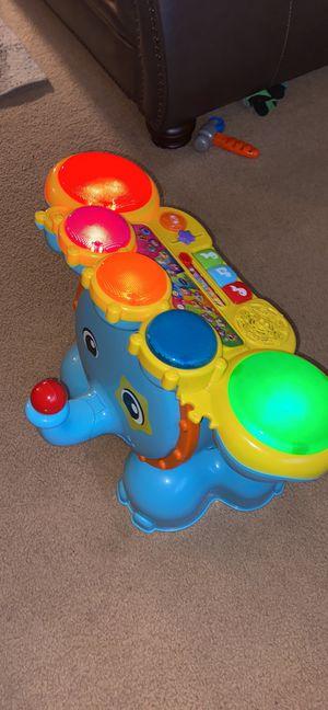 Vtech Elephant drum set for Sale in Weldon Spring, MO