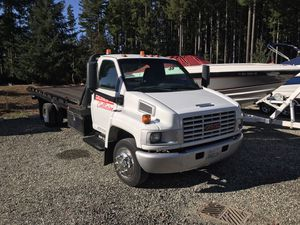 2005 GMC 5500 Rollback Tow truck with wheelback for Sale in Gig Harbor, WA