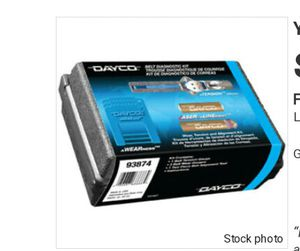 dayco BELT DIAGNOSTIC KIT for Sale in Hazlehurst, GA