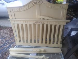 Light wood crib for Sale in Adelphi, MD