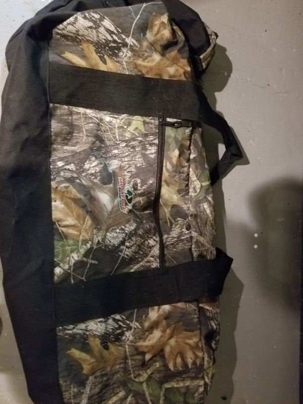 Camping stuff..duffle bag..sleeping bag