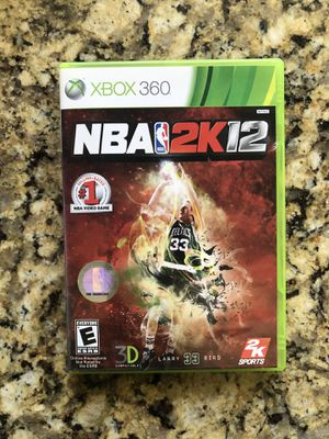 NBA2K12 Larry Bird Cover XBOX 360 Video Game for Sale in Coral Gables, FL