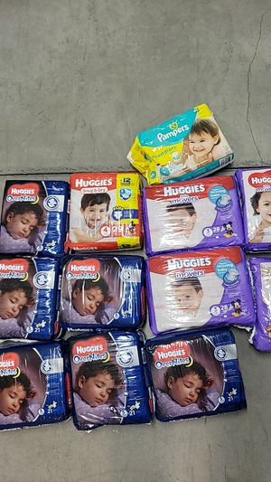 Huggies diapers for Sale in Lowell, MA
