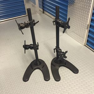 Duel Computer monitor stand for Sale in Jersey City, NJ