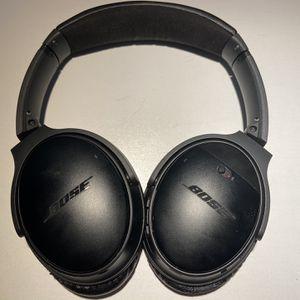 Bose Quiet Comfort 35 Headphones (Black) for Sale in Brooklyn, NY