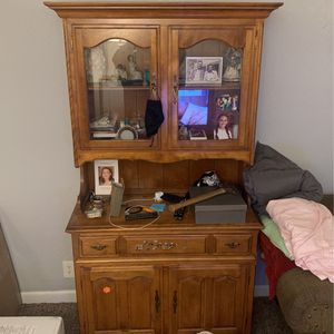 Oak Armoire Must Go for Sale in Del Monte Forest, CA