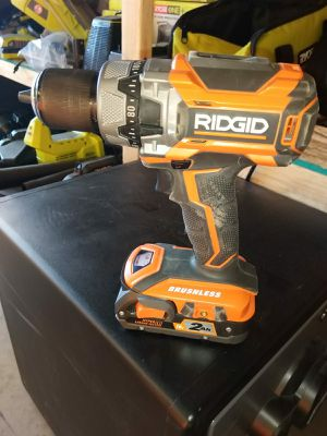 HAMMER DRILL RIDGID NO CHARGER for Sale in Phoenix, AZ