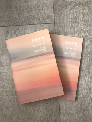 "BTS 방탄소녕단 ""The Notes"" book ""the most beautiful moments in life [english] for Sale in Tacoma, WA"