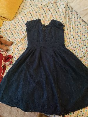 brand new lace dress blue for Sale in Adelphi, MD