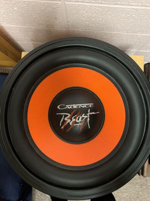 Cadence 12 inch Subwoofer for Sale in Ruston, LA