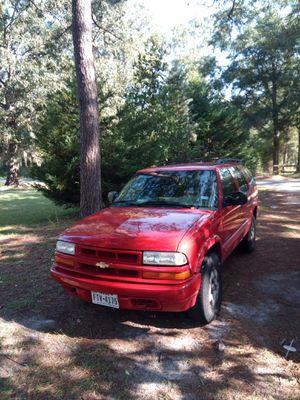 2002 4wd Chevy Blazer ls for Sale in Jesup, GA
