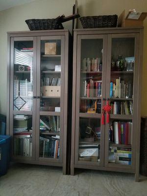 Hemnes IKEA display cabinet bookshelves for Sale in Austin, TX