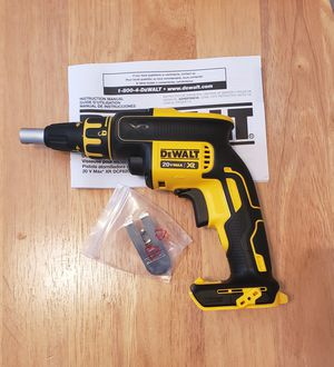 New Drywall Screwgun ONLY TOOL NO CHARGER OR BATTERIES FIRM PRICE for Sale in Woodbridge, VA