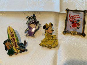 Disney trading pins- 4 for Sale in San Ramon, CA