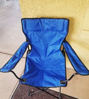 Travel Silver Metal Folding Chair/Stadium Seat/Po for Sale in Hutchinson, KS
