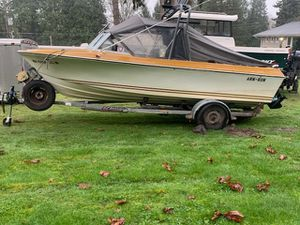 Glasply Boat- 19.5' for Sale in Redmond, WA