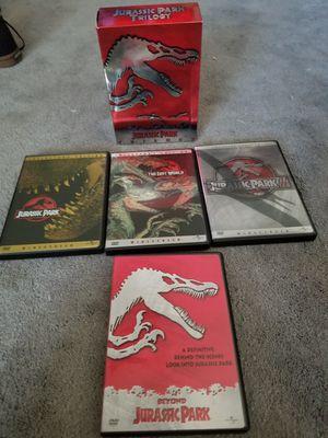 Jurassic park dvds for Sale in Rialto, CA