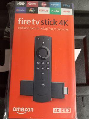 Fire tv stick 4k for Sale in Moreno Valley, CA