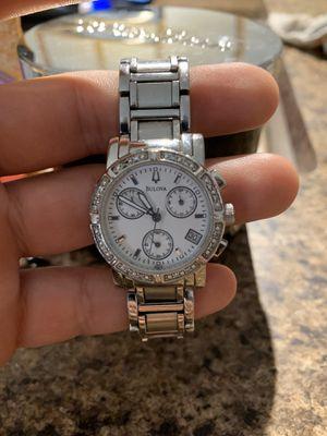 Nice women's BULOVA diamond studded watch for Sale in Baytown, TX