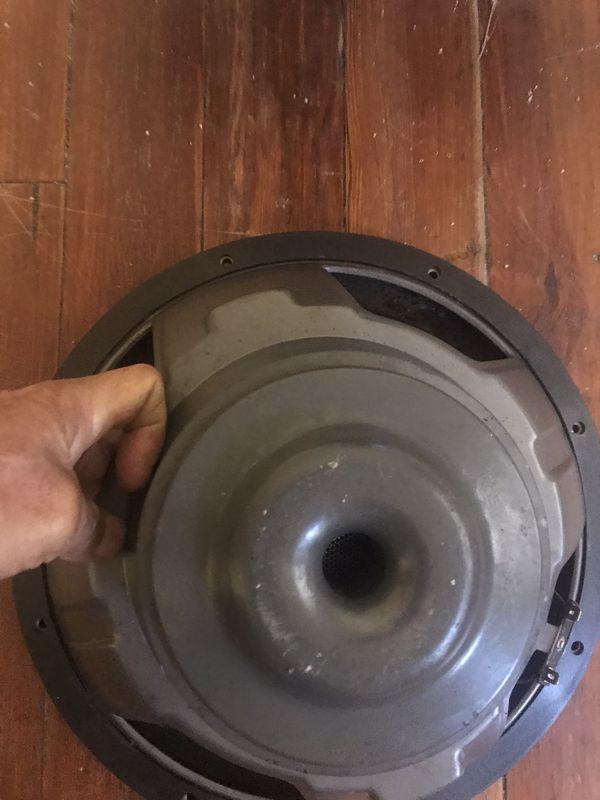 2000 watts 12 inches Polk audio