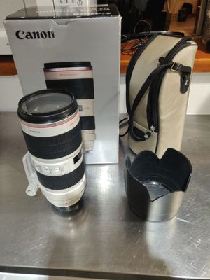 Canon EF 70-200mm f/2.8L IS II USM Telephoto Lens for Sale in Portland, ME