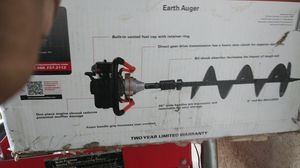 Earth augor heavy duty brand new in the box for Sale in Bell Gardens, CA