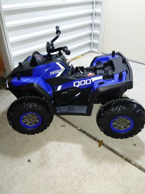 Brand-new In box kids 4 wheeler ride on car for Sale in DeSoto, TX