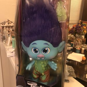 DreamWorks Trolls World Tour Toddler Branch, Removable Outfit, Comb for Sale in San Bernardino, CA