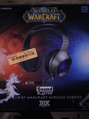 World Of War Craft Headset for Sale in Fremont, CA
