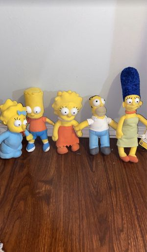The Simpson's stuffed animals/ dolls for Sale in Diamond Bar, CA