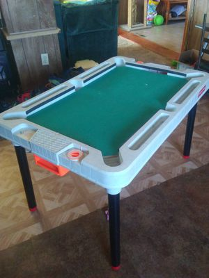 Kids pool table air hockey table for Sale in Missoula, MT