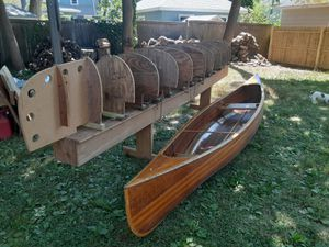 Molds and strong back for building a canoe for Sale in Hartford, CT