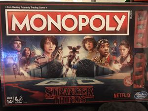 Monopoly Stranger Things for Sale in Los Angeles, CA