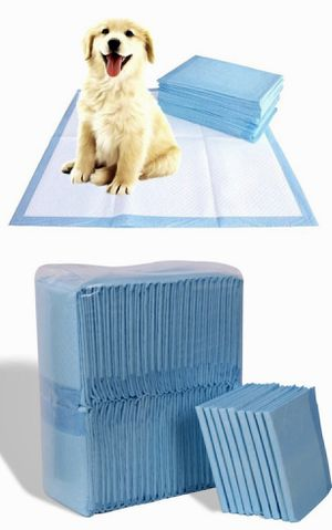 New in box 150pcs 30x30 inches pet wee pee piddle pad pet house training pads for Sale in Pico Rivera, CA
