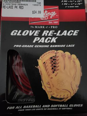 Brand New! Never Used! Custom Rawlings Glove Lacing for Sale in New Britain, CT