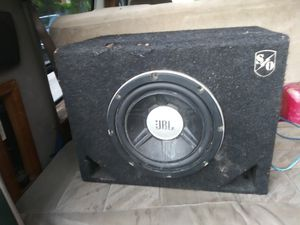 10in JBL subwoofer 1600 watts for Sale in Saint Joseph, MO