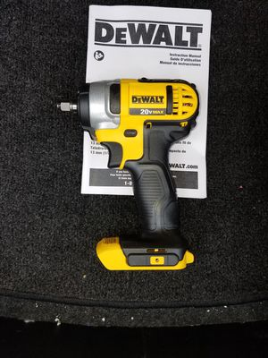 New dewalt 20v MAX impact wrench 3/8 in. [Tool only] for Sale in Ashburn, VA