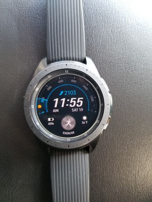 Samsung Galaxy Watch 42mm Bluetooth + LTE - Midnight Black for Sale in Pittsburgh, PA