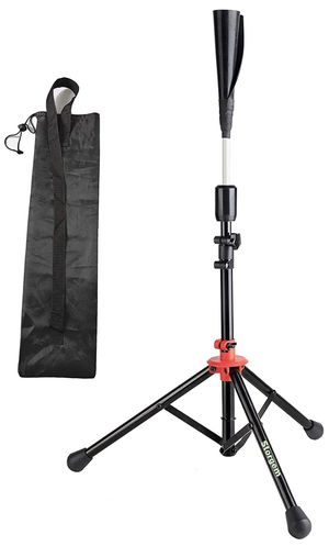 Storgem Batting Baseball tee Softball Adjustable Tripod Stand Tee for Hitting Training Practice,Carrying Bag for Sale in Houston, TX