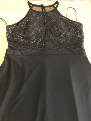 Size 14 see thru black dress for Sale in East Wenatchee, WA